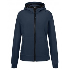 JN1145 Ladie's Hooded Softshell Jacket / Navy