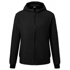 JN1146 Men's Hooded Softshell Jacket / Black