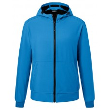 JN1146 Men's Hooded Softshell Jacket / blue