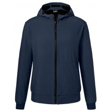 JN1146 Men's Hooded Softshell Jacket / Navy