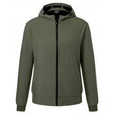 JN1146 Men's Hooded Softshell Jacket / Olive