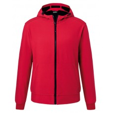 JN1146 Men's Hooded Softshell Jacket / red
