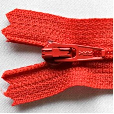Synthetische rits 20 cm - Rood