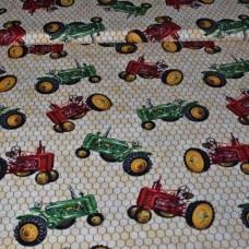 Down on the farm - Tractors (beige)