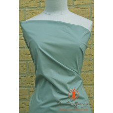 Dark mint stretch katoen