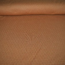 Doorstikte sweater melange - terracotta