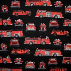 Fire Rescue - black